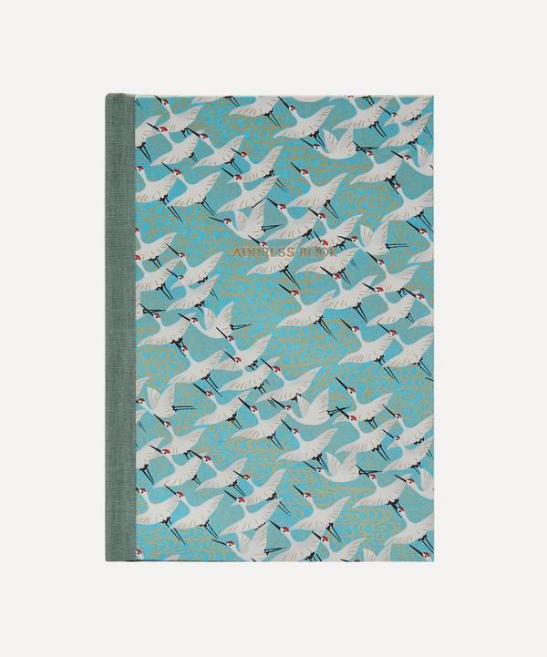 Esmie - White Cranes Desk Address Book
