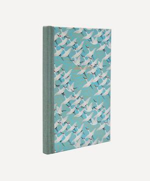White Cranes Desk Address Book