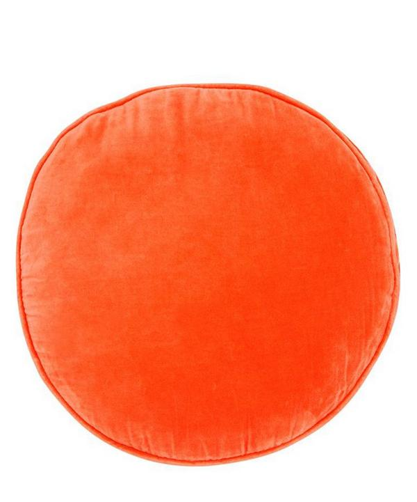 Watermelon Penny Round Cushion