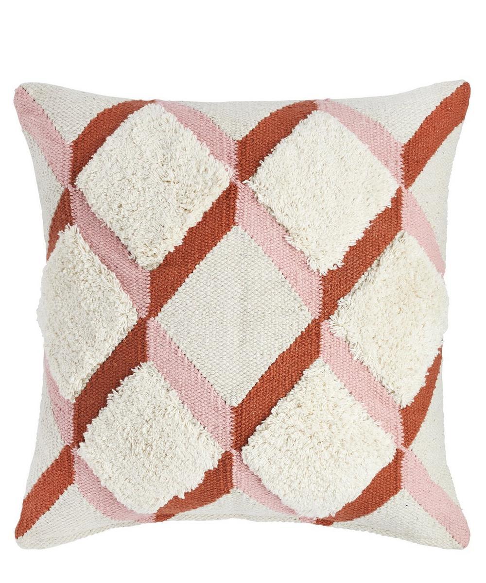 Revontuli Dhurrie Squared Cushion