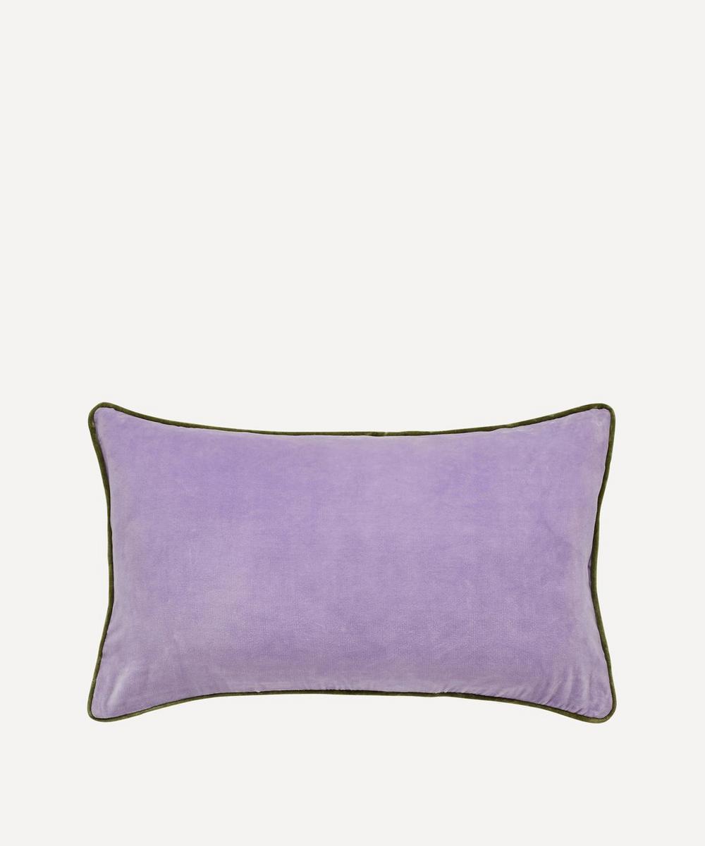 Sametti Velvet Rectangular Cushion