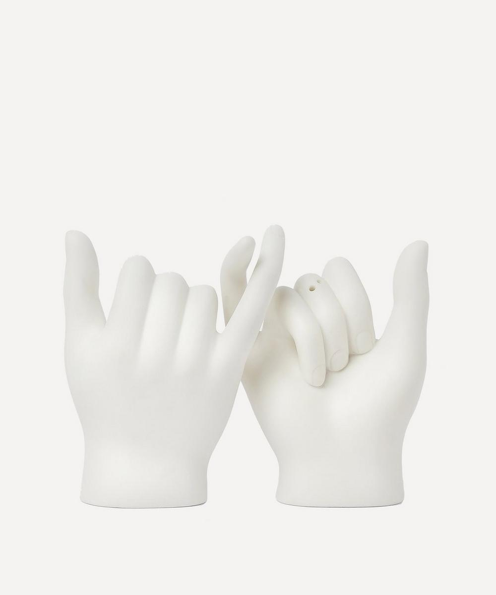 Doiy Pinky Swear Salt And Pepper Shakers In Assorted