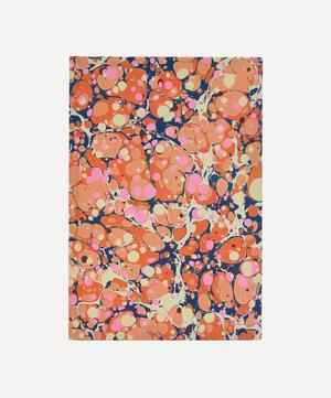 A5 Lined Full Marbled Notebook