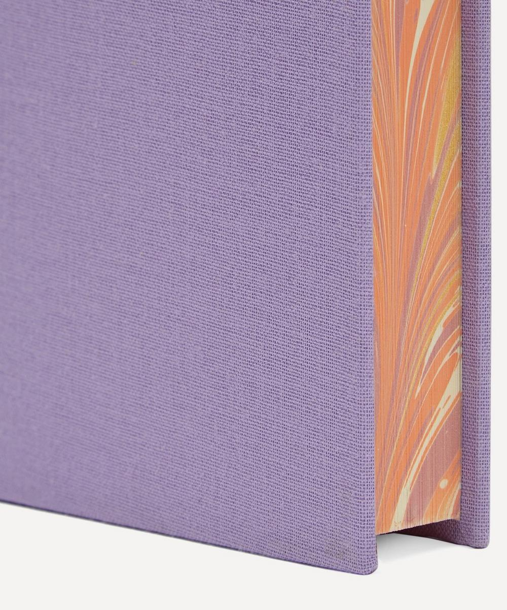 A5 Lined Marbled Edge Notebook