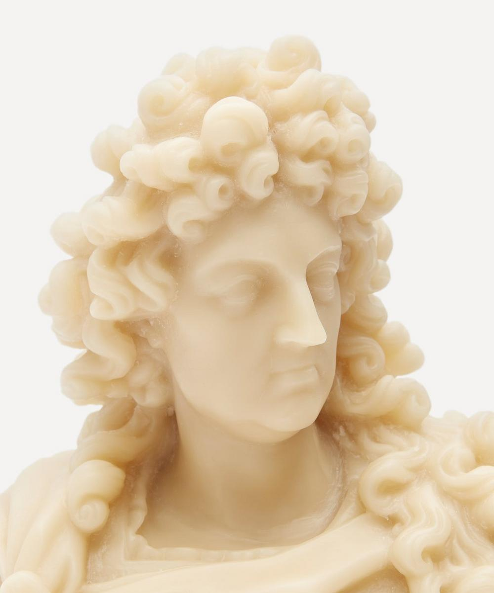 Louis XIV Wax Candle Bust