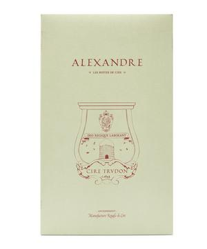 Alexandre Brongniart Wax Candle Bust