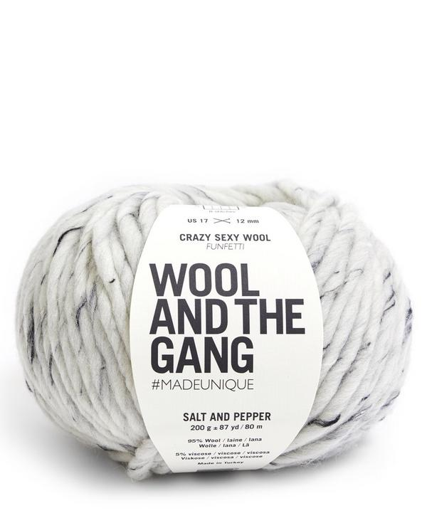 Wool and the Gang - Crazy Sexy Wool Funfetti Salt and Pepper Yarn