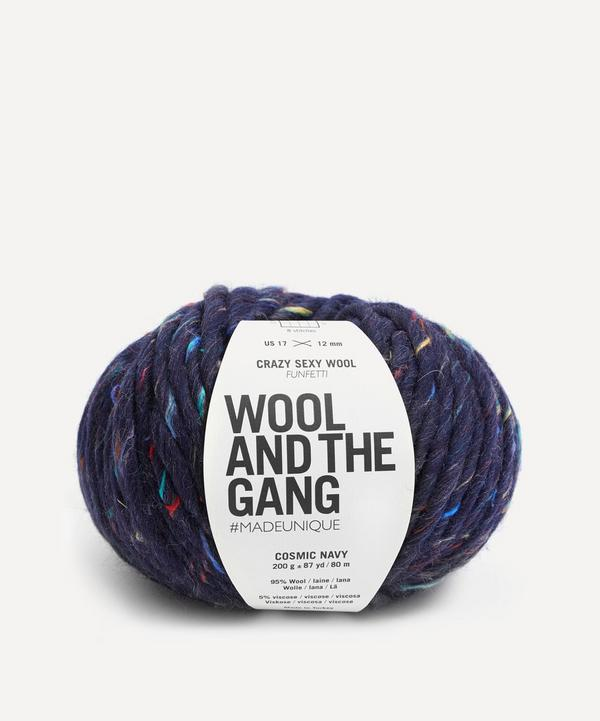 Wool and the Gang - Crazy Sexy Wool Funfetti Cosmic Navy Yarn