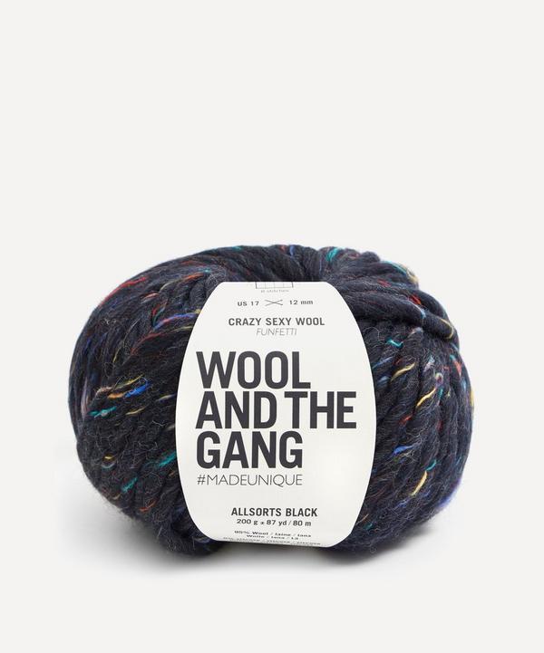 Wool and the Gang - Crazy Sexy Wool Funfetti Allsorts Black Yarn