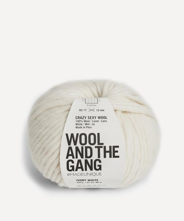 Wool and the Gang - Crazy Sexy Wool Ivory White Yarn