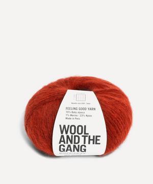 Feeling Good Red Ochre Yarn