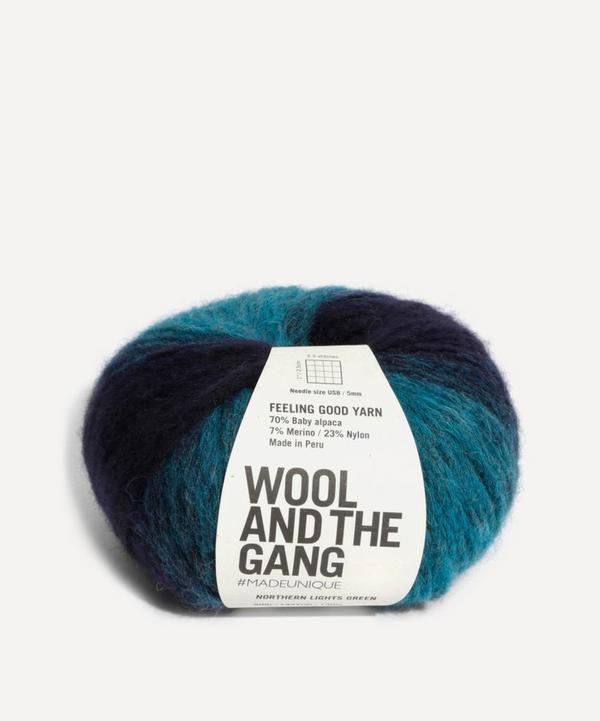 Wool and the Gang - Feeling Good Green Stripe Yarn