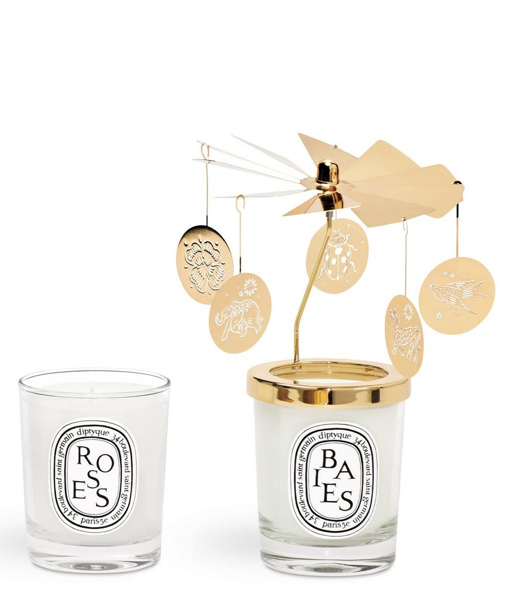 70g Candle and Carousel Set