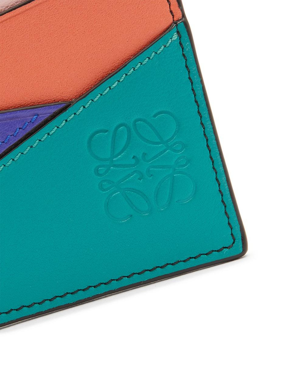 Puzzle Leather Cardholder