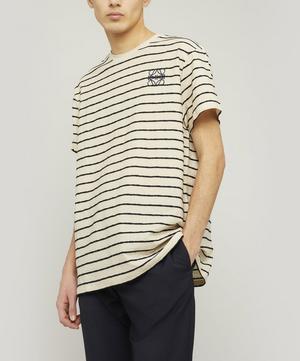 Anagram Stripe T-Shirt