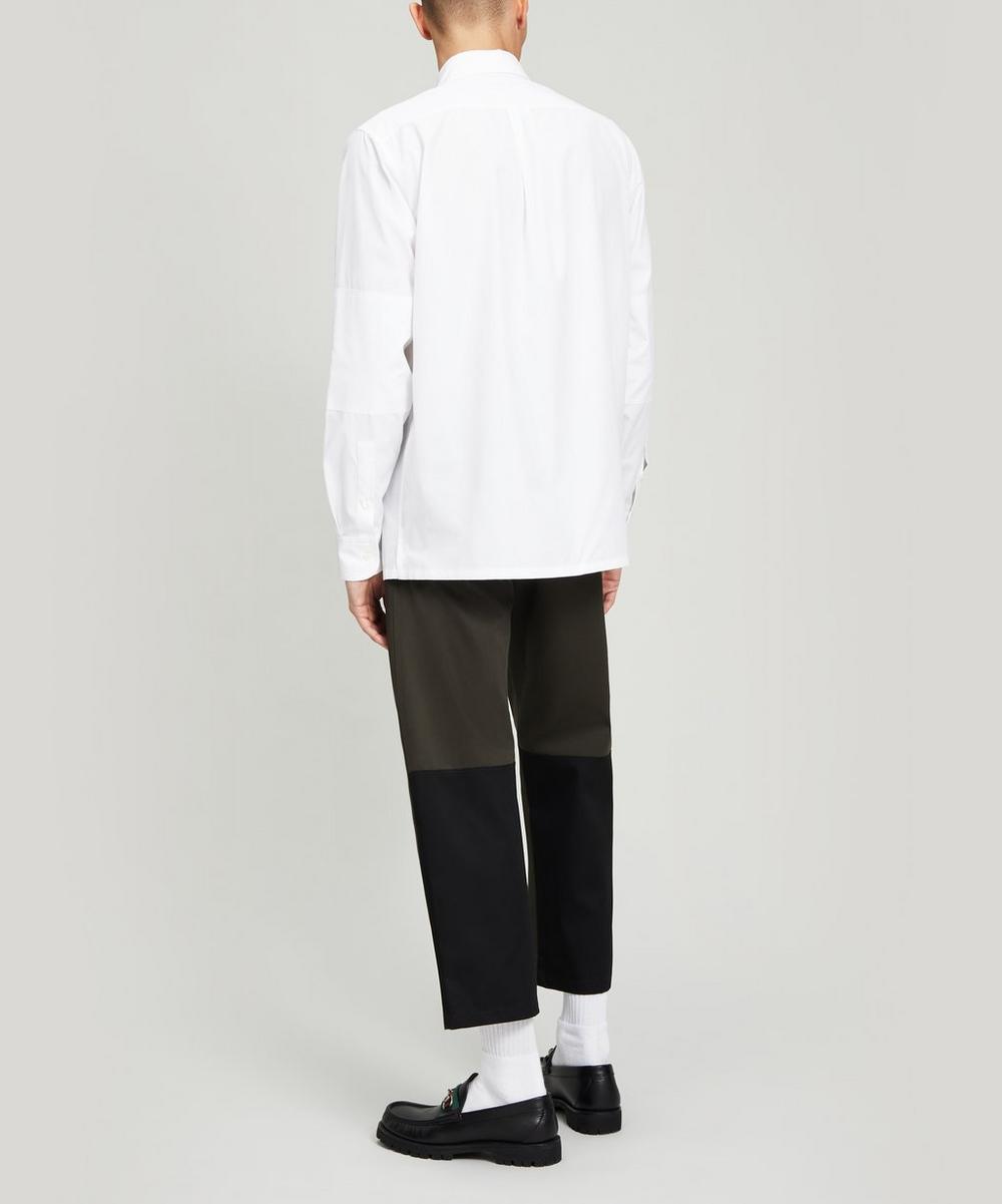 Double Pocket Oversized Shirt