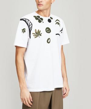 Leaf Logo Print T-Shirt