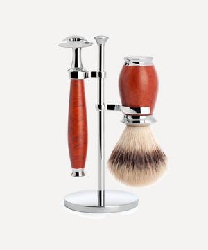 PURIST Silvertip Fibre Three-Piece Shaving Set