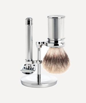 TRADITIONAL Silvertip Fibre Shaving Set