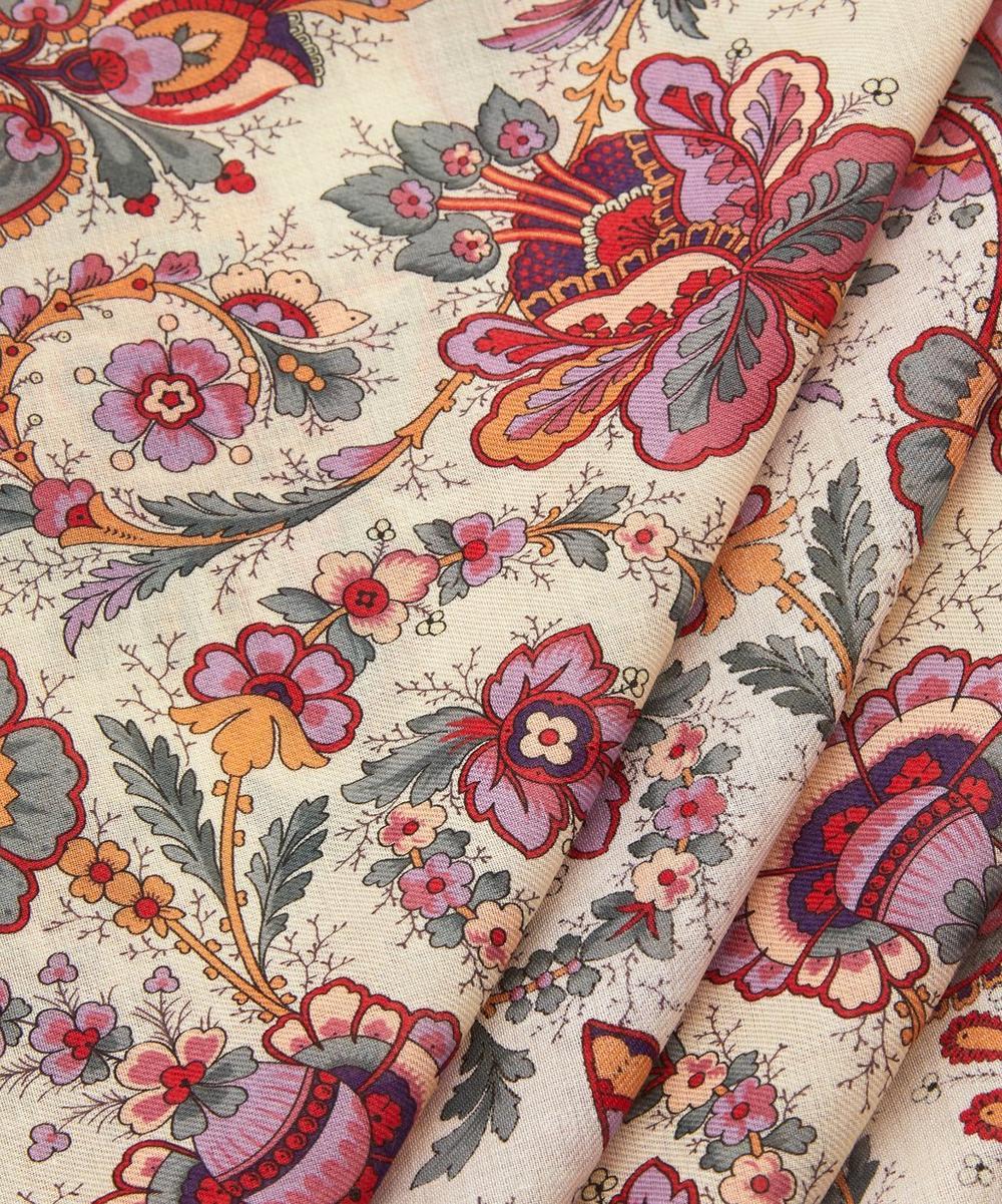 Floral Belle Cotton Handkerchief