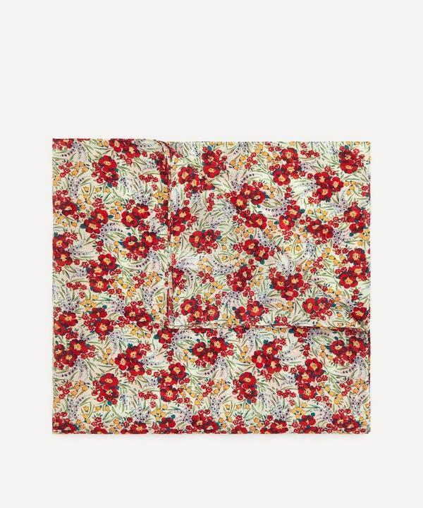 Liberty - Swirling Petals Large Silk-Cotton Handkerchief