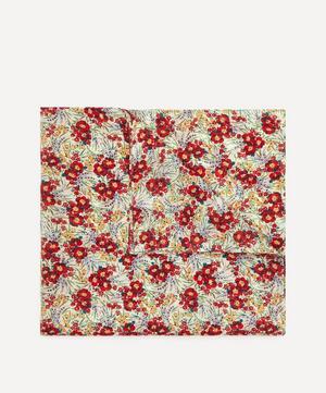 Swirling Petals Large Silk-Cotton Handkerchief
