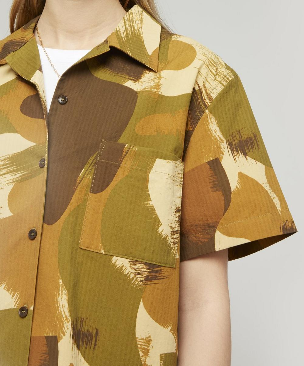 Vegas Camo Print Short-Sleeve Shirt