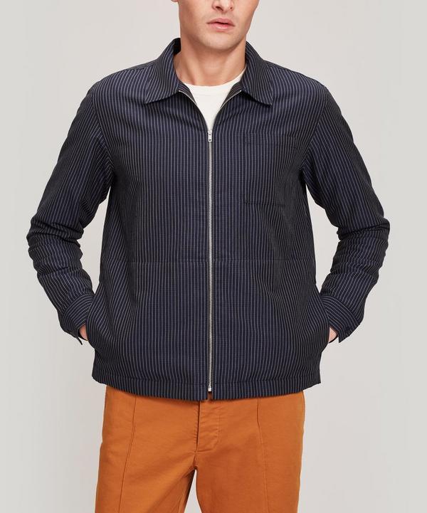 Bowie Zip-Thru Cotton-Blend Jacket