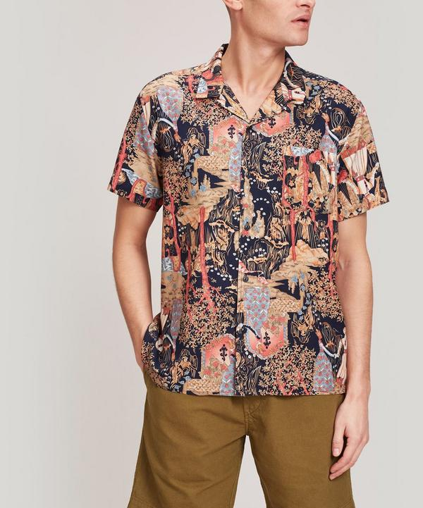 Malick Hawaii Print Shirt