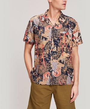 Malick Hawaii Print Shirt