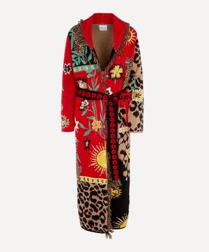 Enchanted Leopard Long Cardigan