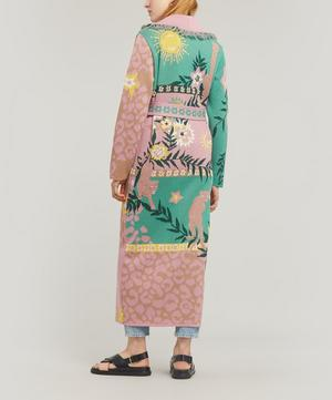 Enchanted Leopard Long Cardigan