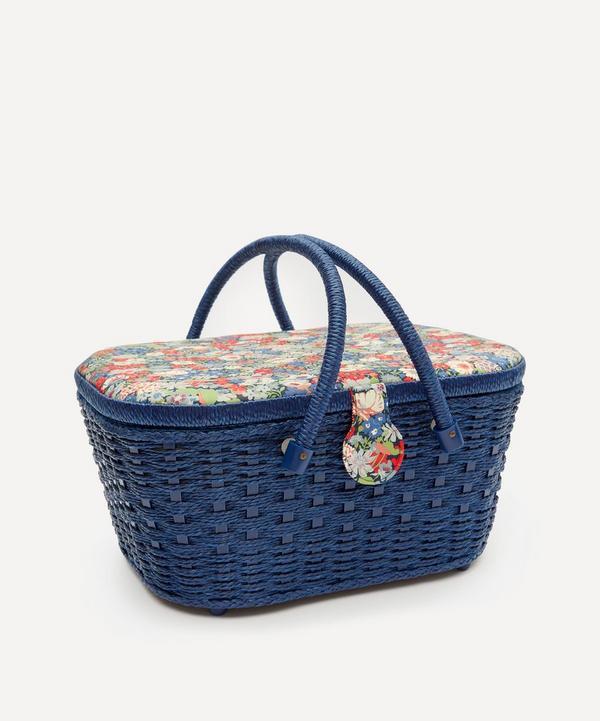 Liberty - Thorpe Print Hamper Sewing Basket