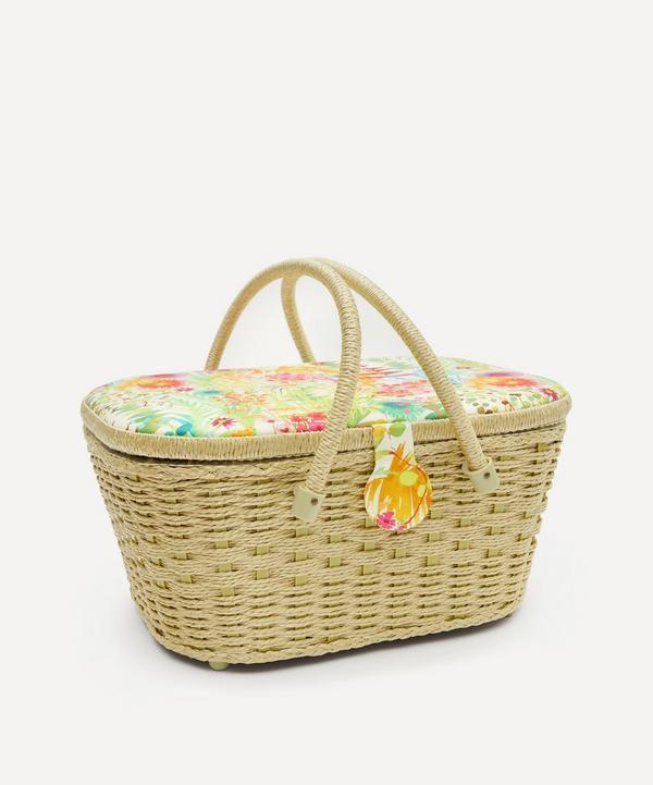 Liberty - Tresco Print Hamper Sewing Basket