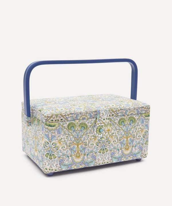 Liberty - Lodden Print Square Sewing Box