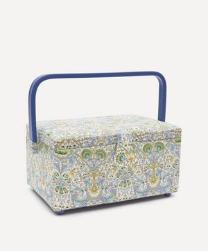 Lodden Print Square Sewing Box