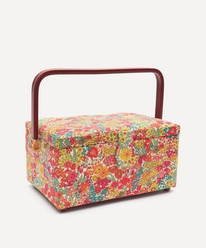 Margaret Annie Print Square Sewing Box