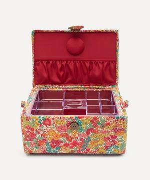 Margaret Annie Print Square Sewing Box