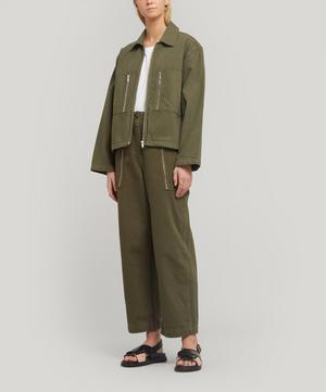 Lidia Sustainable Cotton-Blend Jacket