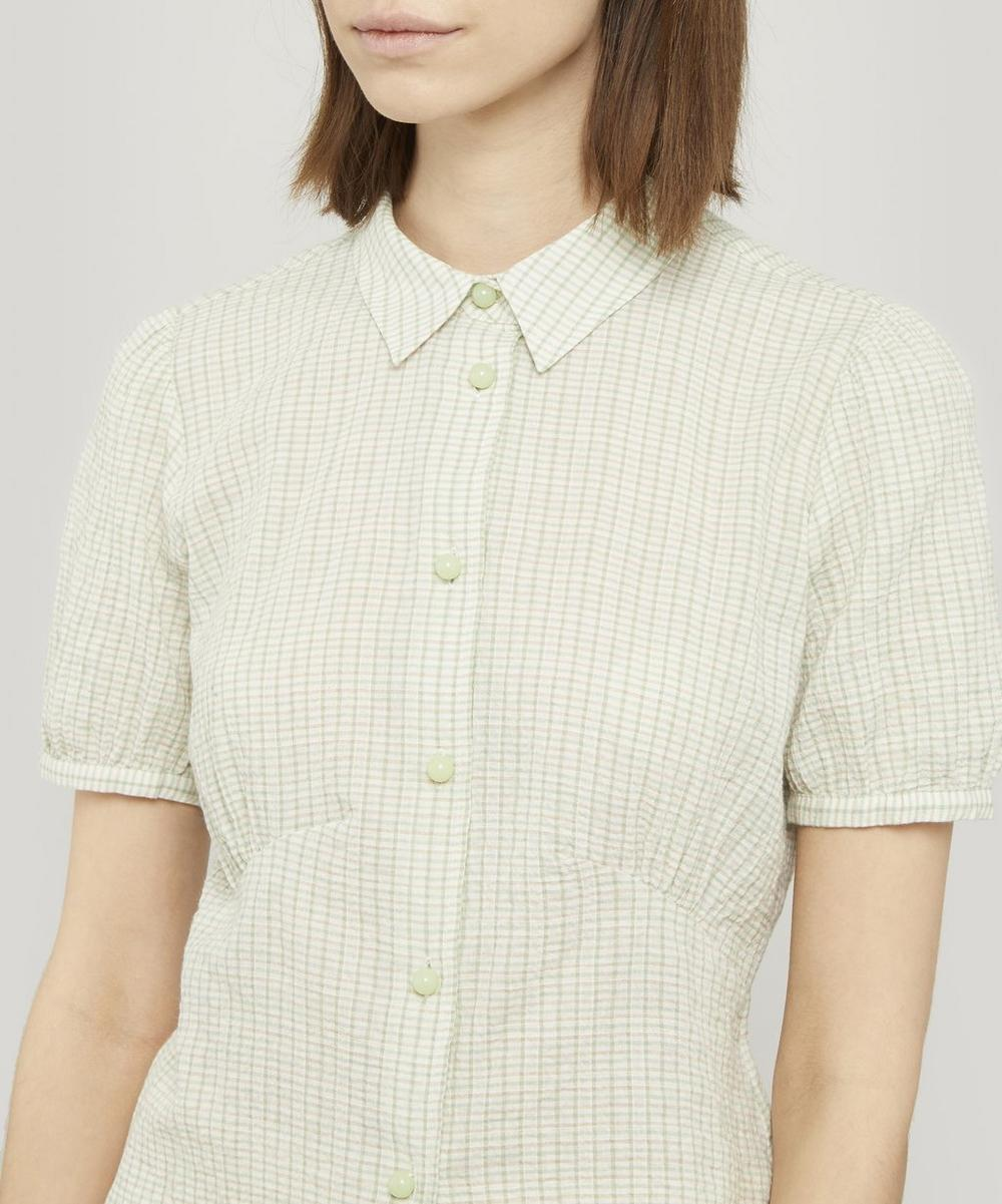 Lila Fitted Shirt