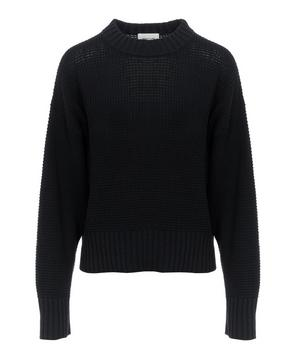 Waffle Knitted Manon Sweater