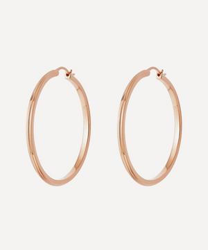 Rose Gold Vermeil Large Linia Hoop Earrings