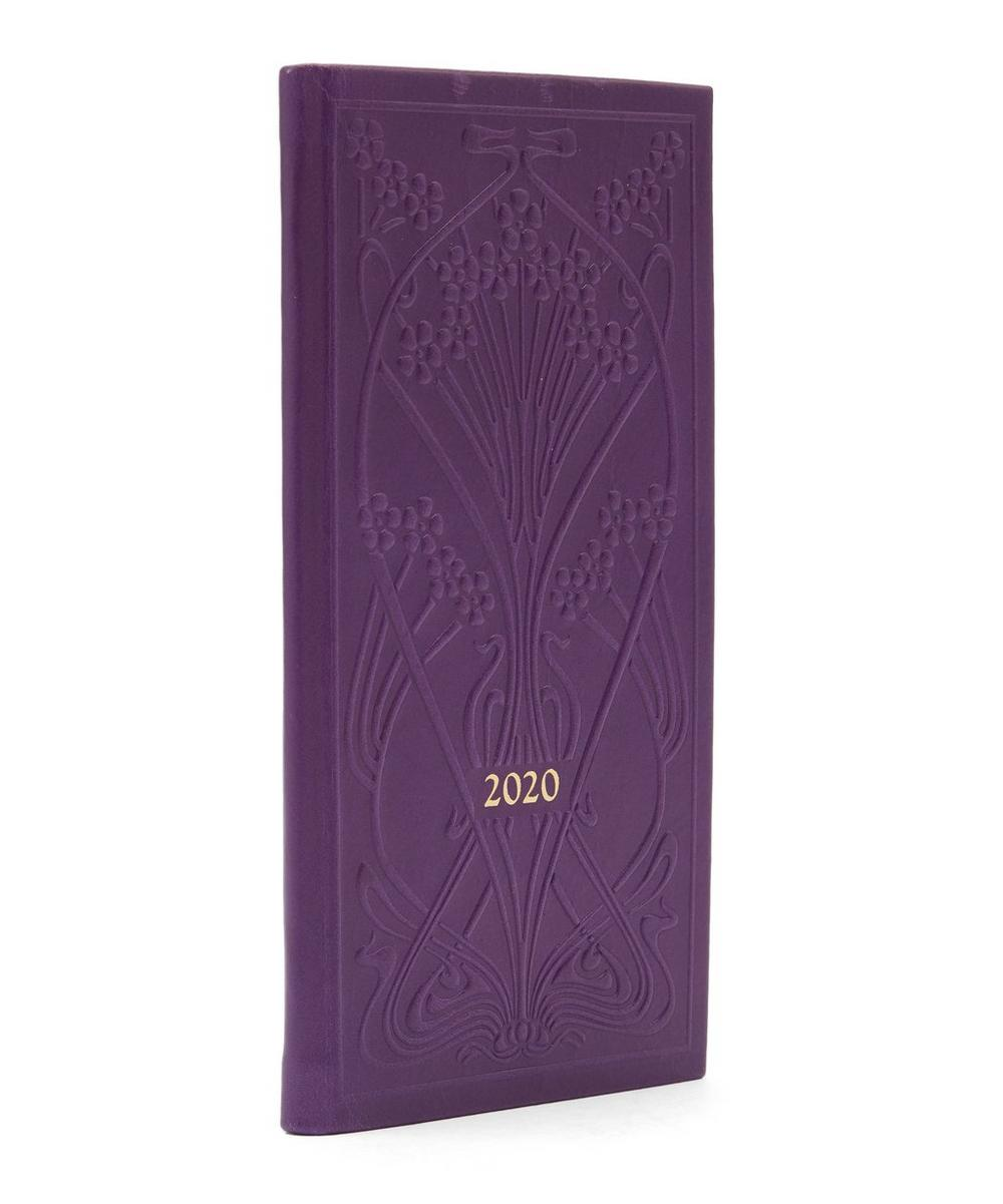Slim Leather Ianthe Diary 2020