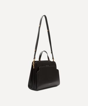 Trunk Reverse Leather Tote Bag