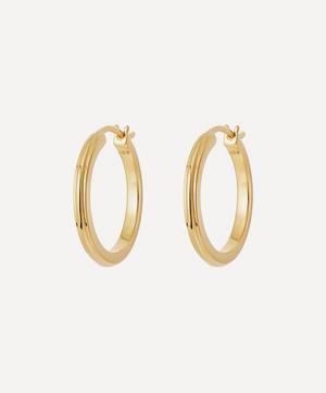 Gold Vermeil Small Linia Hoop Earrings