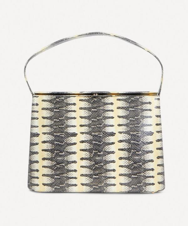 Felix Snake Print Leather Handbag