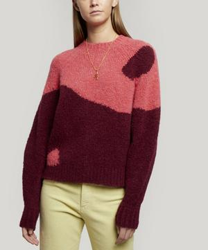 Ying Yang Knitted Sweater