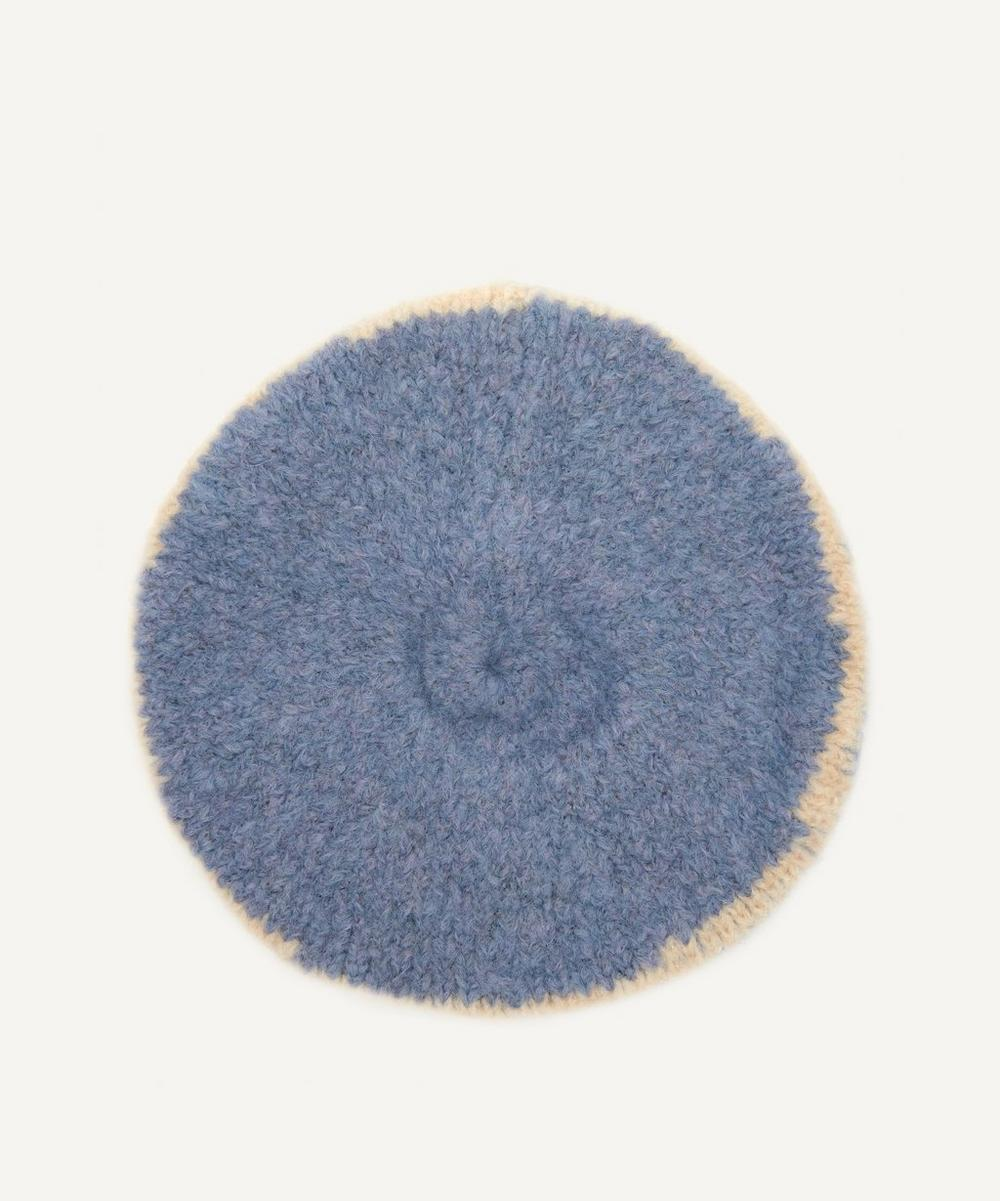 Tere Intarsia Knitted Beret