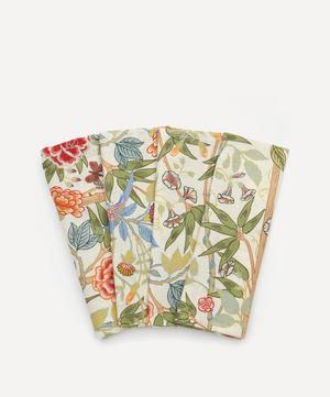 Bamboo Garden Linen Napkins Set of Four