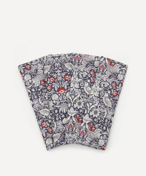 Strawberry Thief Linen Napkins Set of Four